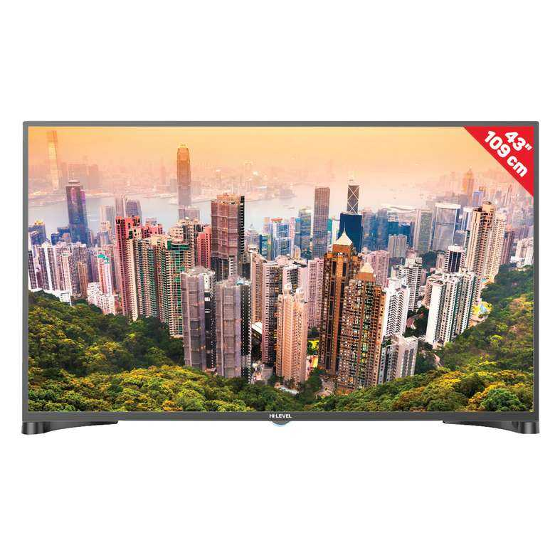 "A101 Hi Level  HL43DLK13-TNR 43"" FHD Uydu Alıcılı Android Smart Led TV"