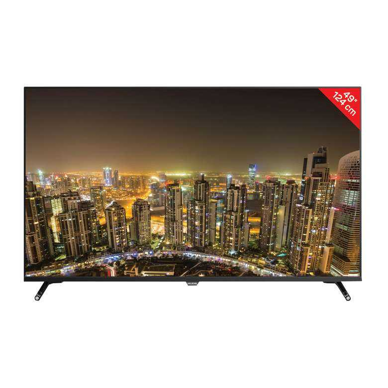 "A101 Hi Level HL49FAL403 49"" Ultra HD Android Smart D-Dual Led TV"